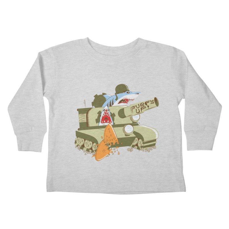 Shark Tank Kids Toddler Longsleeve T-Shirt by The Salty Studios @ Threadless
