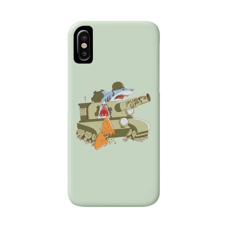 Shark Tank Accessories Phone Case by The Salty Studios @ Threadless