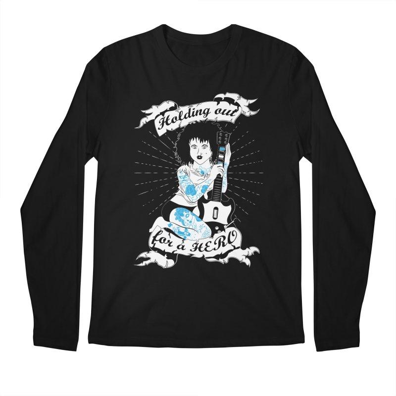 Heroes Needed Men's Longsleeve T-Shirt by The Salty Studios @ Threadless