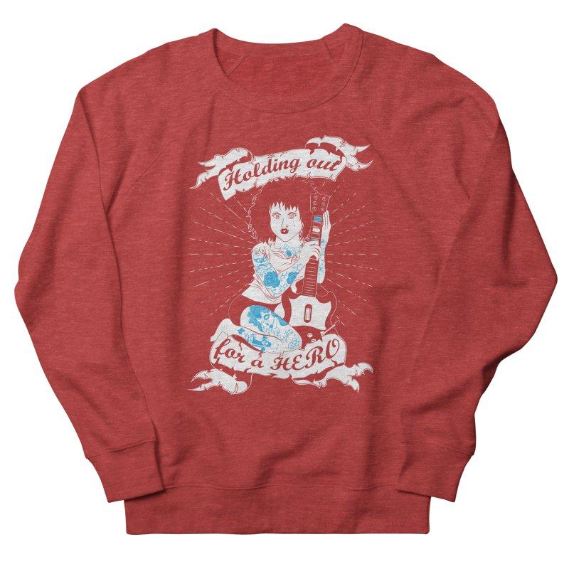 Heroes Needed Women's Sweatshirt by The Salty Studios @ Threadless