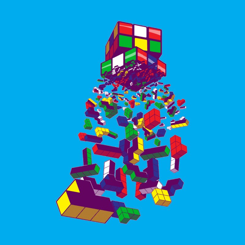 The God Cube by The Salty Studios @ Threadless