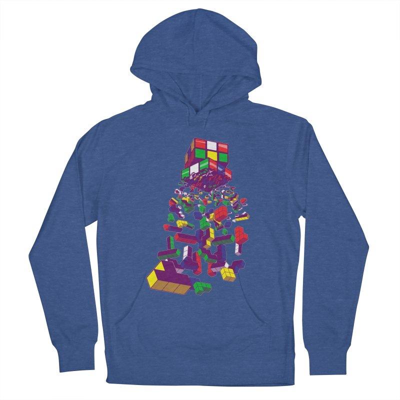 The God Cube Men's Pullover Hoody by The Salty Studios @ Threadless