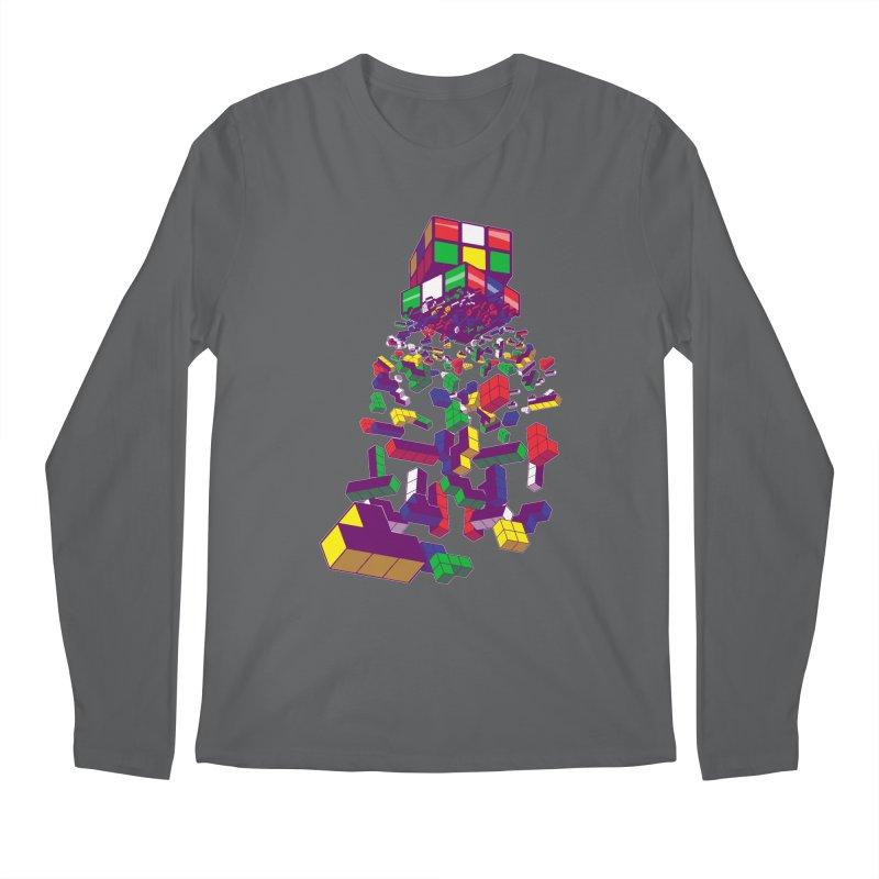 The God Cube Men's Longsleeve T-Shirt by The Salty Studios @ Threadless