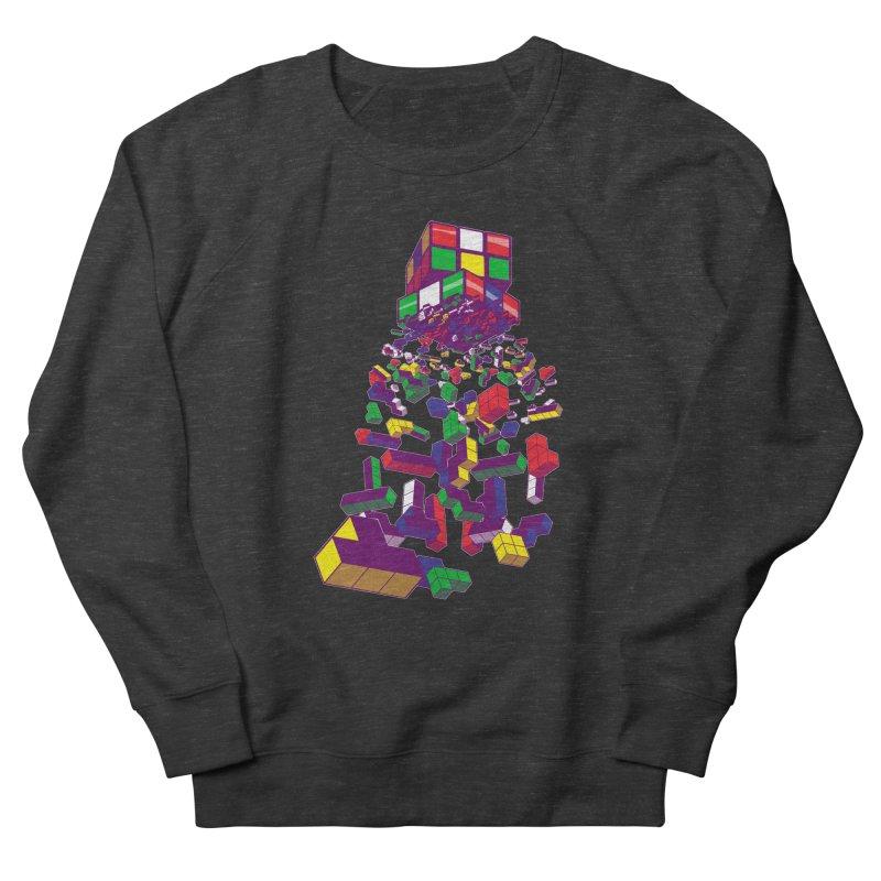 The God Cube Women's Sweatshirt by The Salty Studios @ Threadless