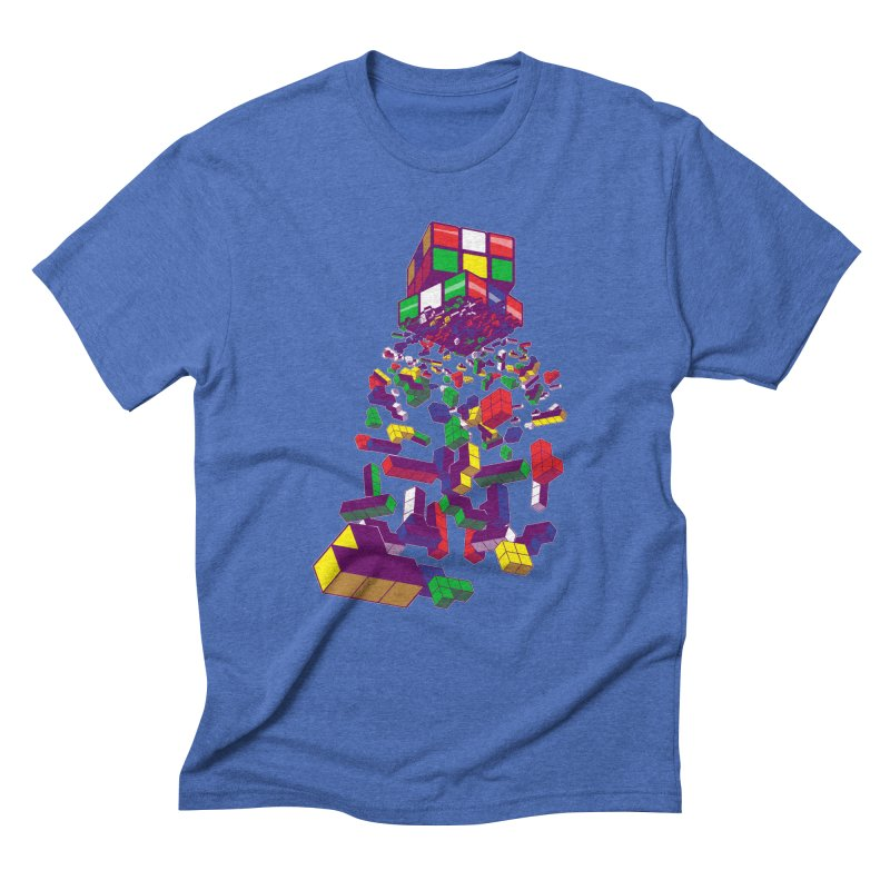 The God Cube Men's Triblend T-shirt by The Salty Studios @ Threadless