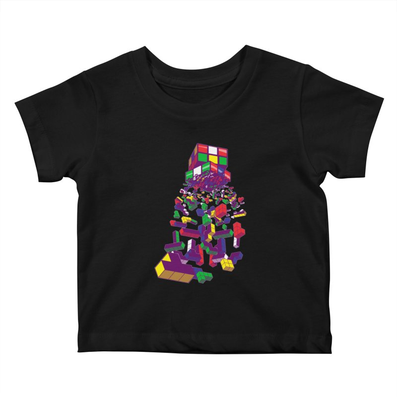 The God Cube Kids Baby T-Shirt by The Salty Studios @ Threadless