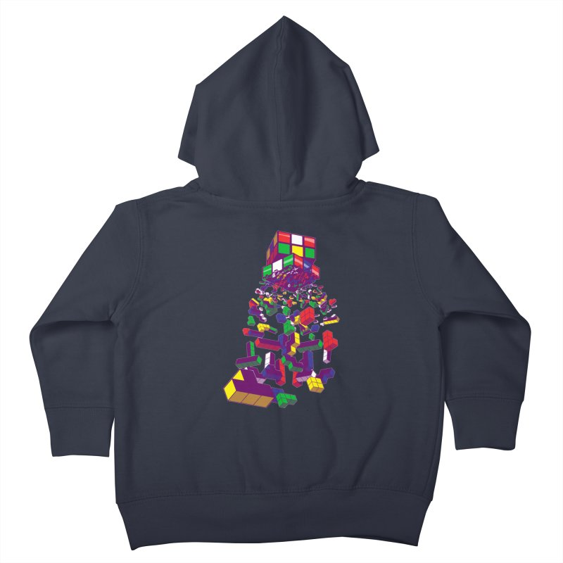 The God Cube Kids Toddler Zip-Up Hoody by The Salty Studios @ Threadless