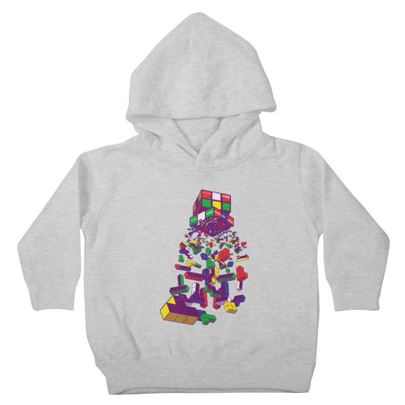 The God Cube Kids Toddler Pullover Hoody by The Salty Studios @ Threadless
