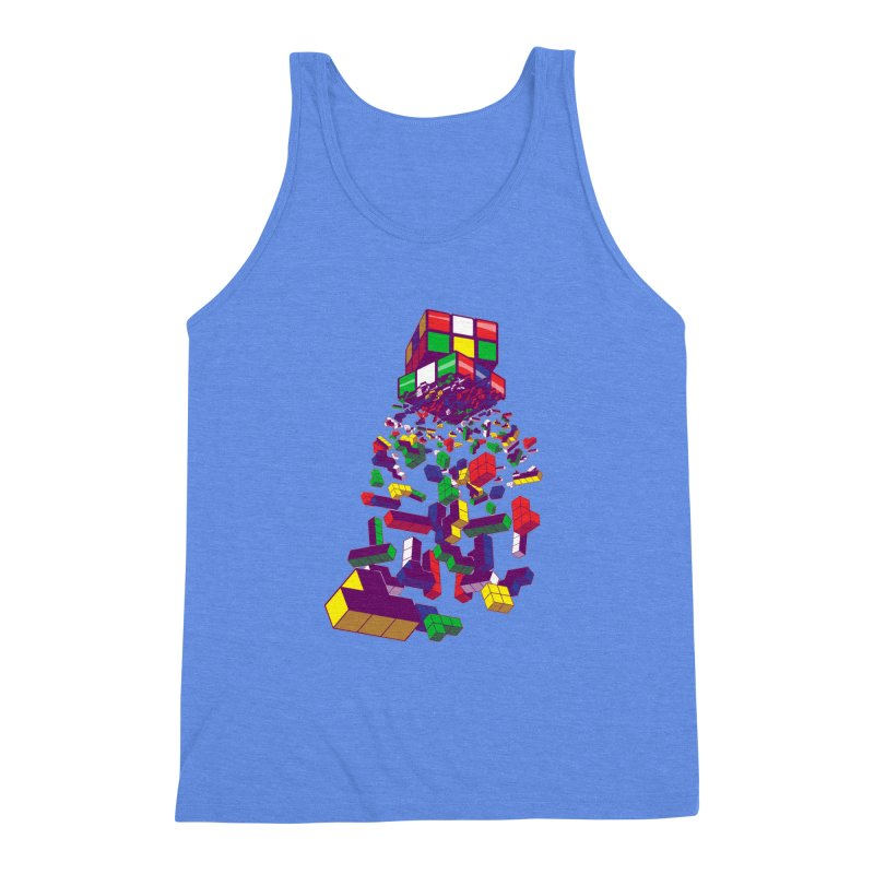 The God Cube Men's Triblend Tank by The Salty Studios @ Threadless