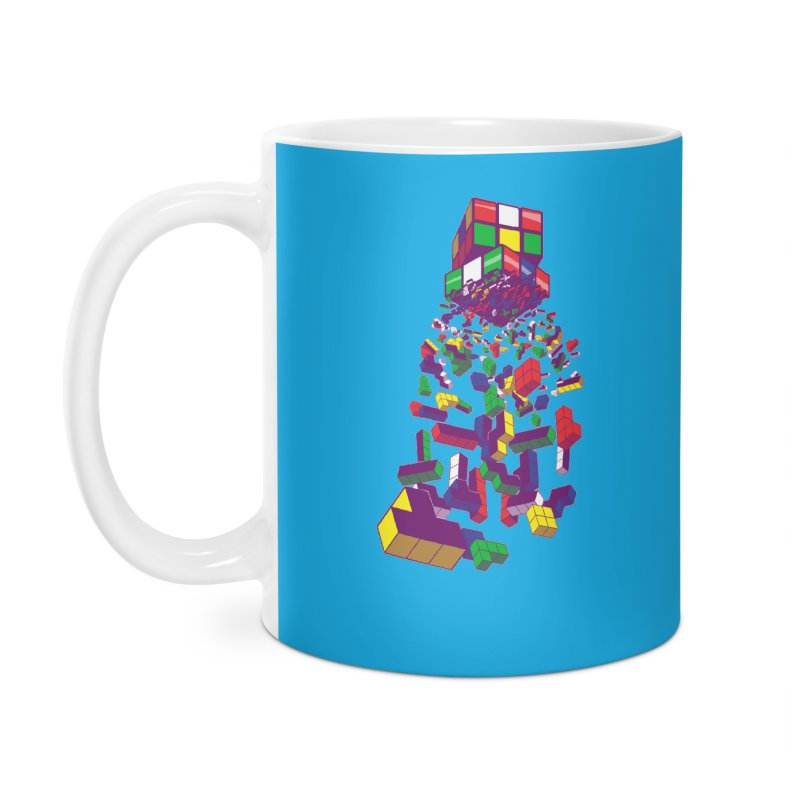 The God Cube Accessories Mug by The Salty Studios @ Threadless