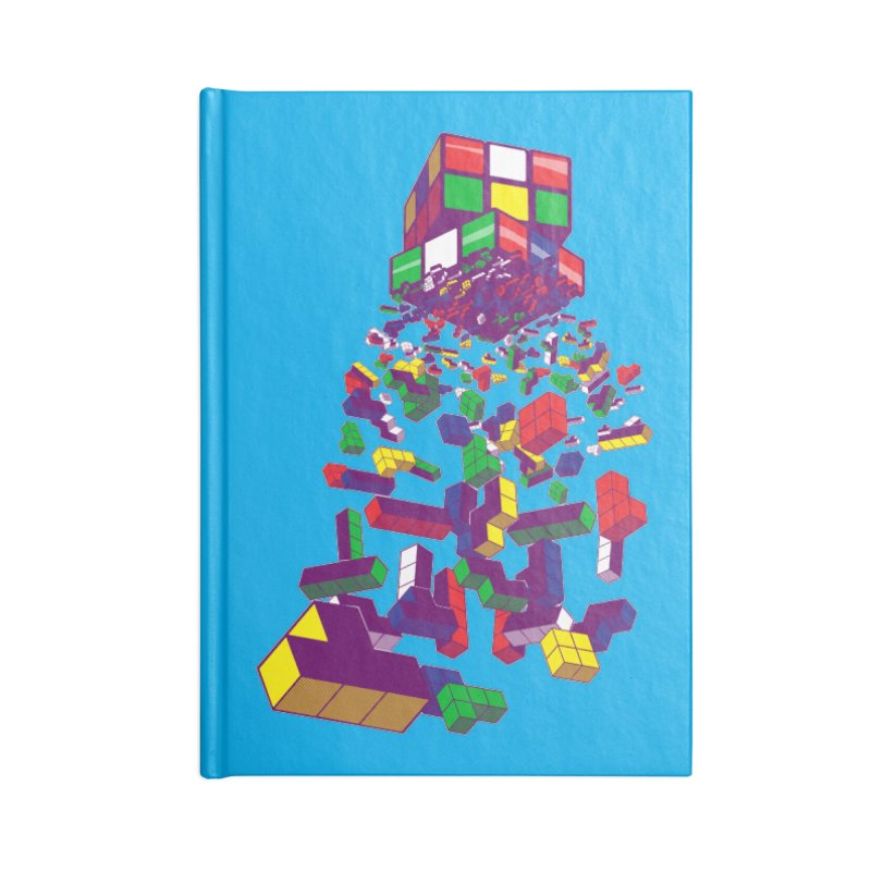 The God Cube Accessories Notebook by The Salty Studios @ Threadless