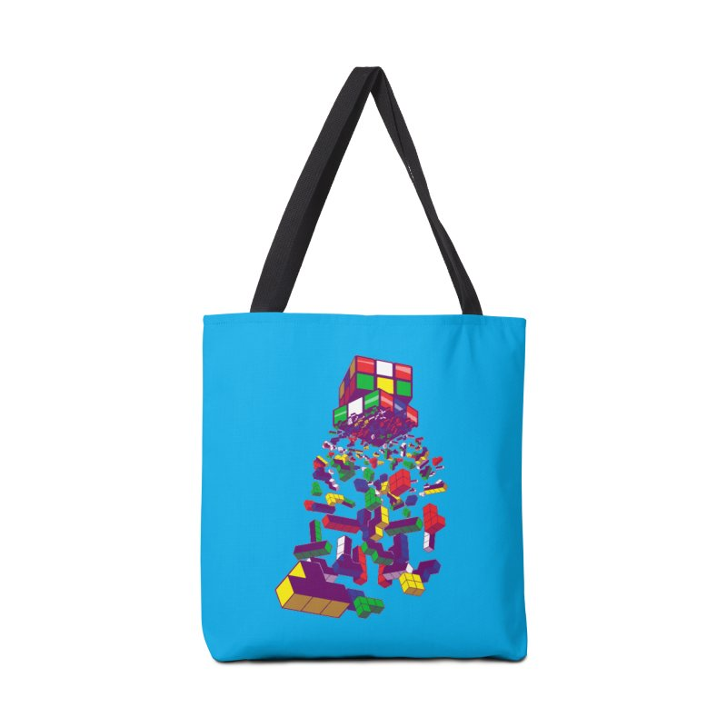 The God Cube Accessories Bag by The Salty Studios @ Threadless