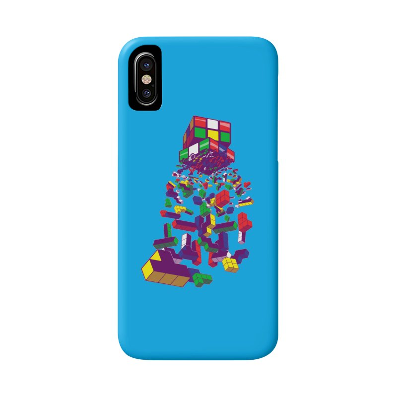 The God Cube Accessories Phone Case by The Salty Studios @ Threadless