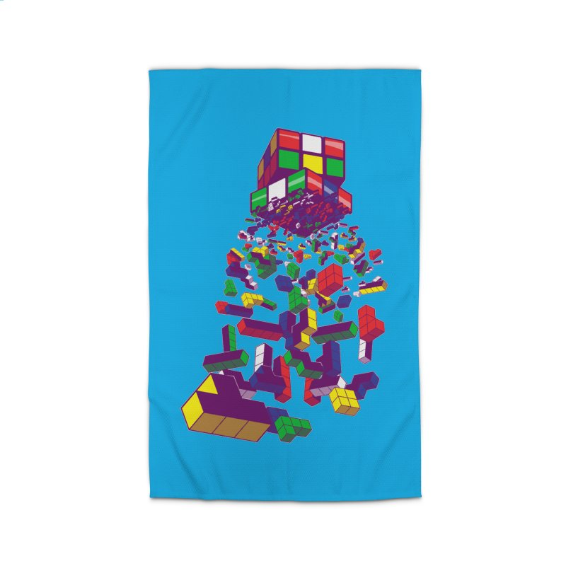 The God Cube Home Rug by The Salty Studios @ Threadless