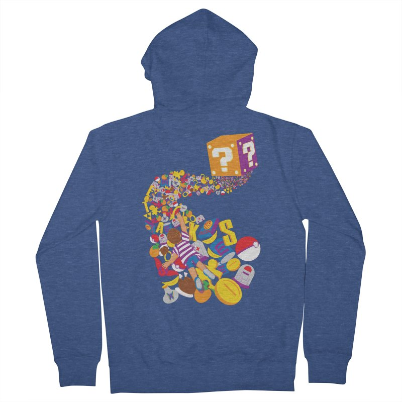 Quest for Power Men's Zip-Up Hoody by The Salty Studios @ Threadless