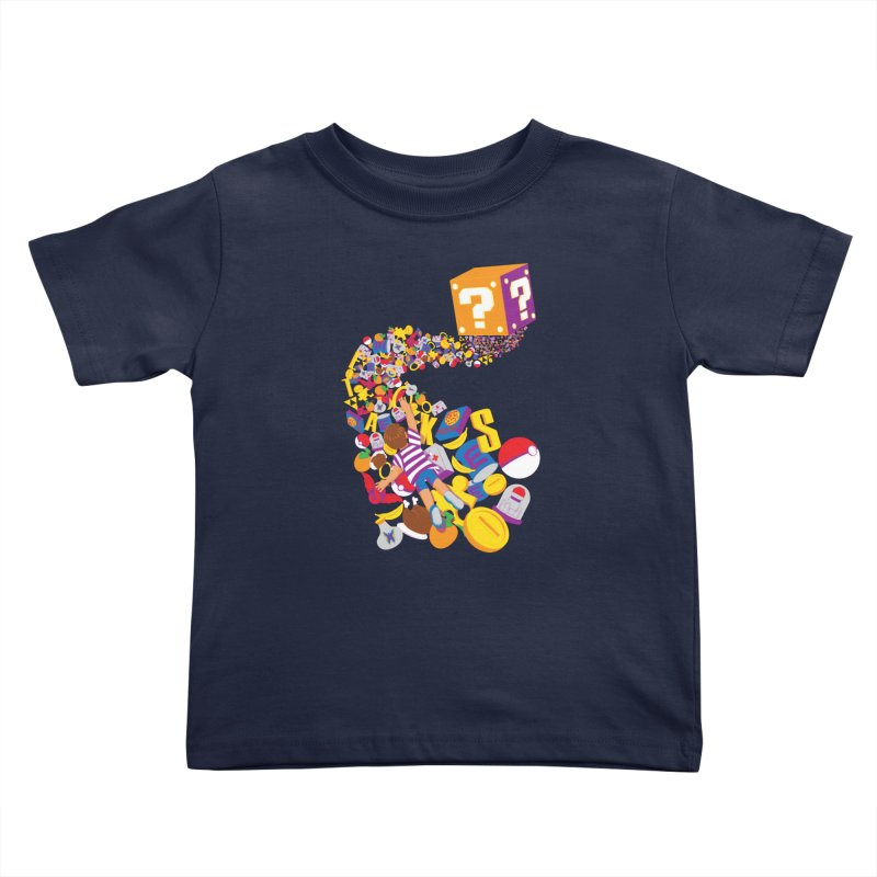 Quest for Power Kids Toddler T-Shirt by The Salty Studios @ Threadless