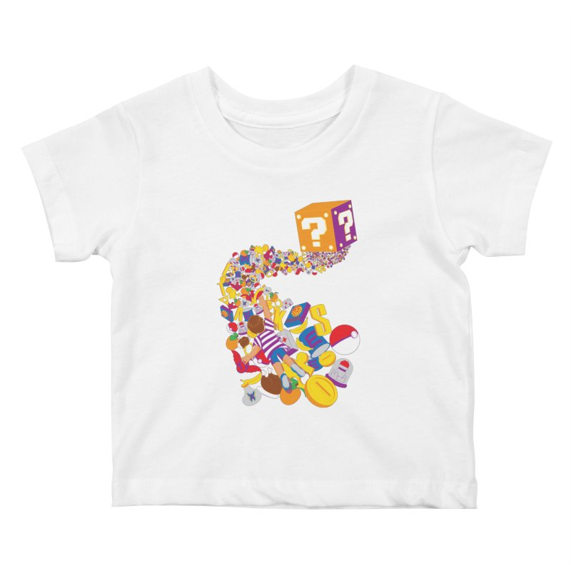 Quest for Power Kids Baby T-Shirt by The Salty Studios @ Threadless