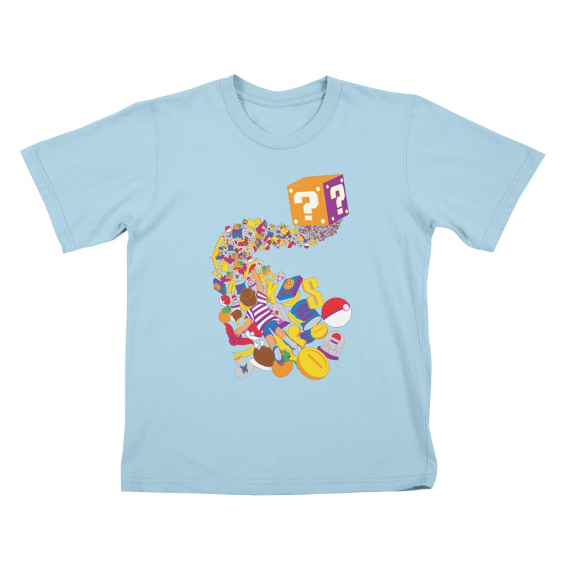Quest for Power Kids T-shirt by The Salty Studios @ Threadless