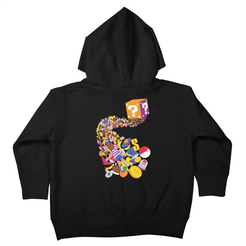 Quest for Power Kids Toddler Zip-Up Hoody by The Salty Studios @ Threadless