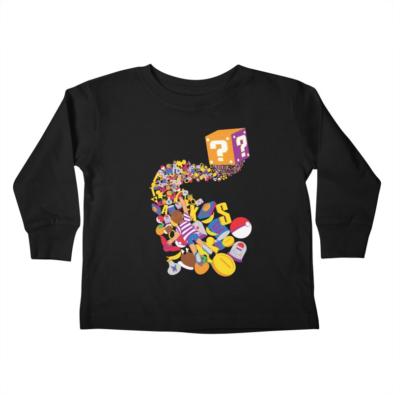 Quest for Power Kids Toddler Longsleeve T-Shirt by The Salty Studios @ Threadless