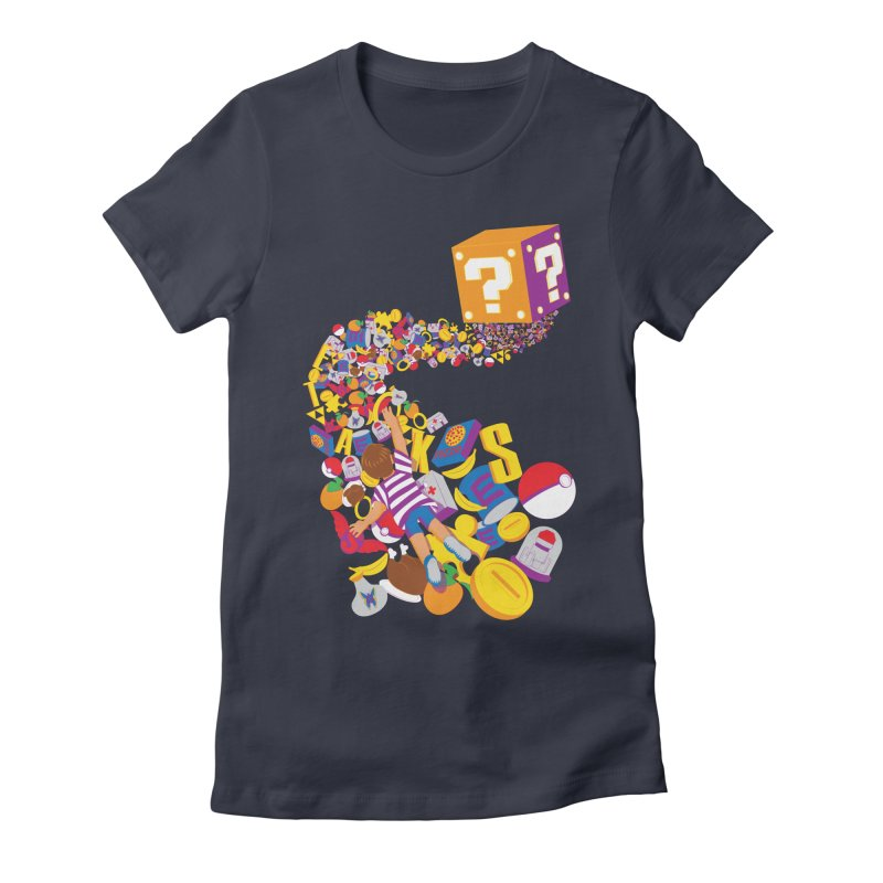 Quest for Power Women's Fitted T-Shirt by The Salty Studios @ Threadless