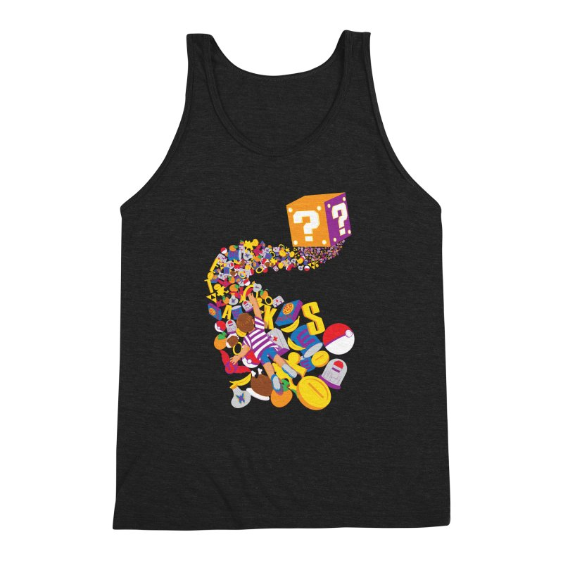 Quest for Power Men's Triblend Tank by The Salty Studios @ Threadless