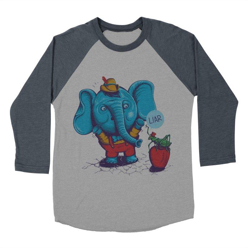 Liar Men's Baseball Triblend T-Shirt by samalope's Artist Shop