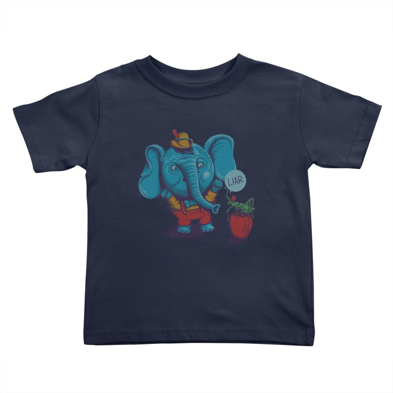 Liar Kids Toddler T-Shirt by samalope's Artist Shop