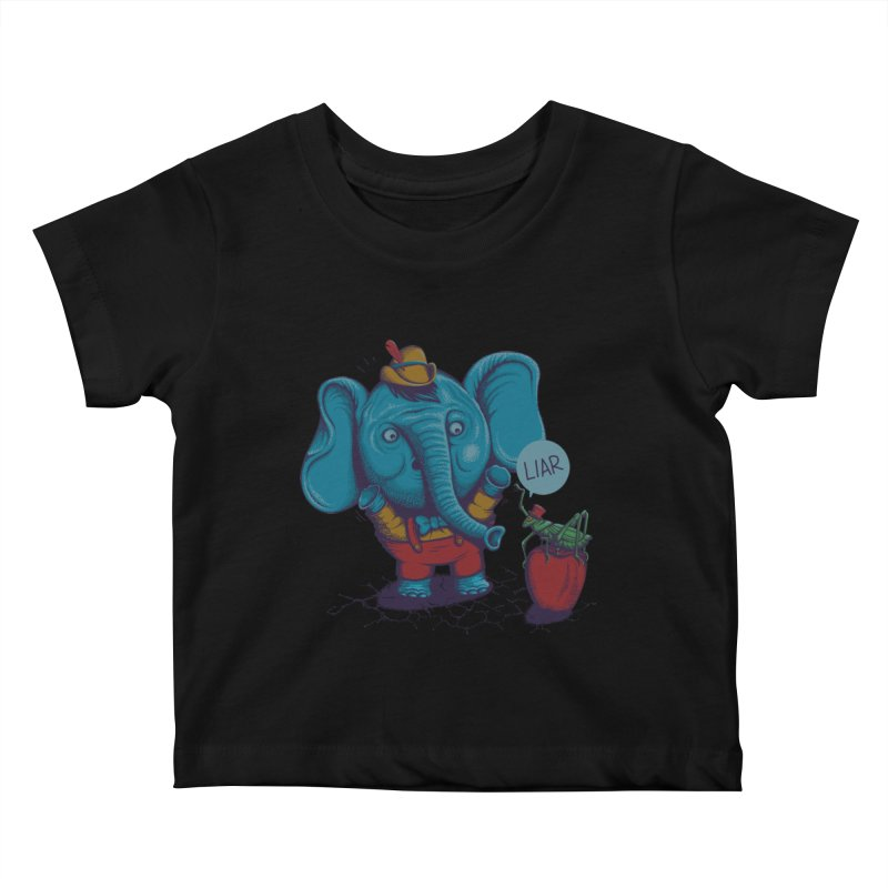 Liar Kids Baby T-Shirt by samalope's Artist Shop