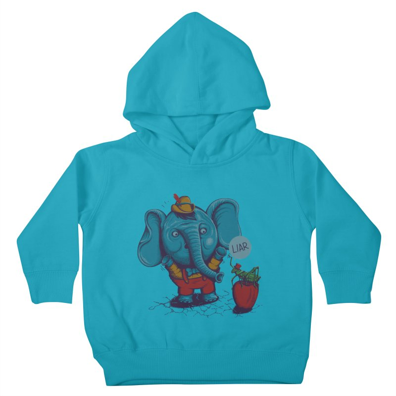 Liar Kids Toddler Pullover Hoody by samalope's Artist Shop