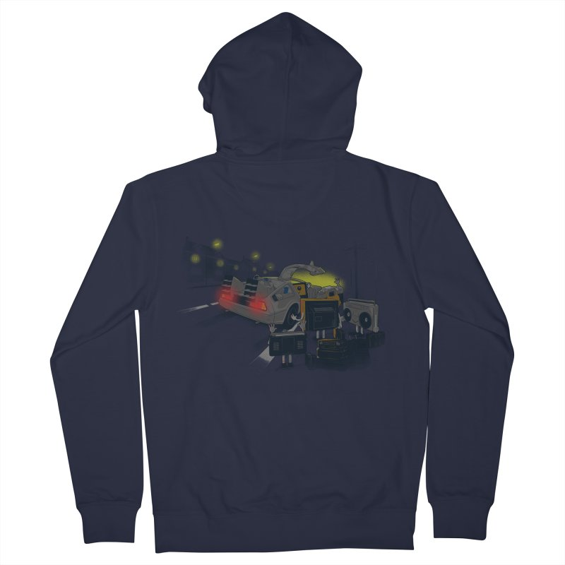 Back to Glorious Day Men's Zip-Up Hoody by samalope's Artist Shop