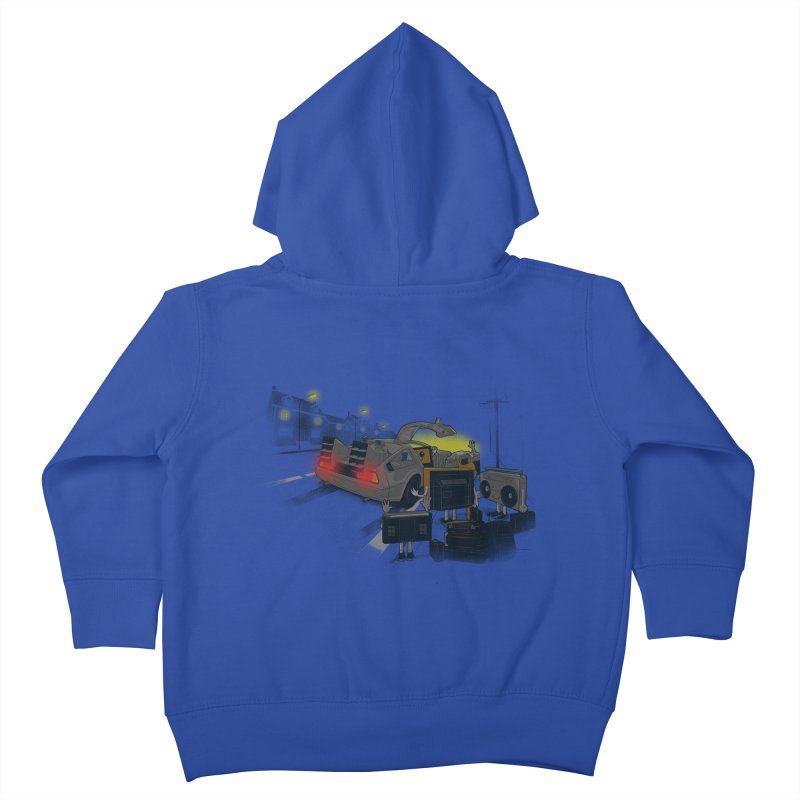 Back to Glorious Day Kids Toddler Zip-Up Hoody by samalope's Artist Shop