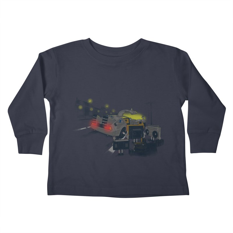 Back to Glorious Day Kids Toddler Longsleeve T-Shirt by samalope's Artist Shop