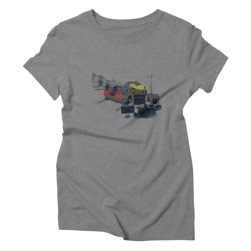 Back to Glorious Day Women's Triblend T-Shirt by samalope's Artist Shop