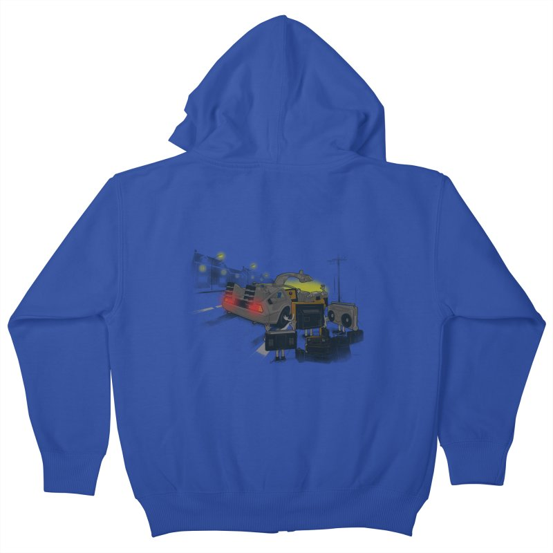 Back to Glorious Day Kids Zip-Up Hoody by samalope's Artist Shop