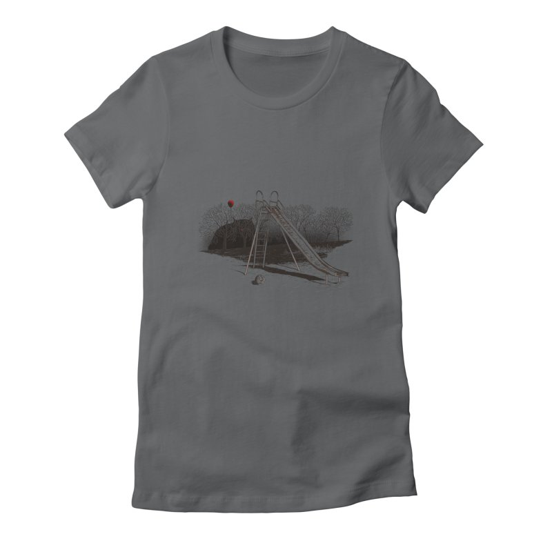 when monster Women's Fitted T-Shirt by samalope's Artist Shop