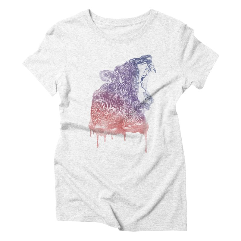 camuflage Women's Triblend T-shirt by samalope's Artist Shop