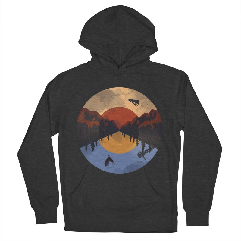 music traveler Women's Pullover Hoody by samalope's Artist Shop