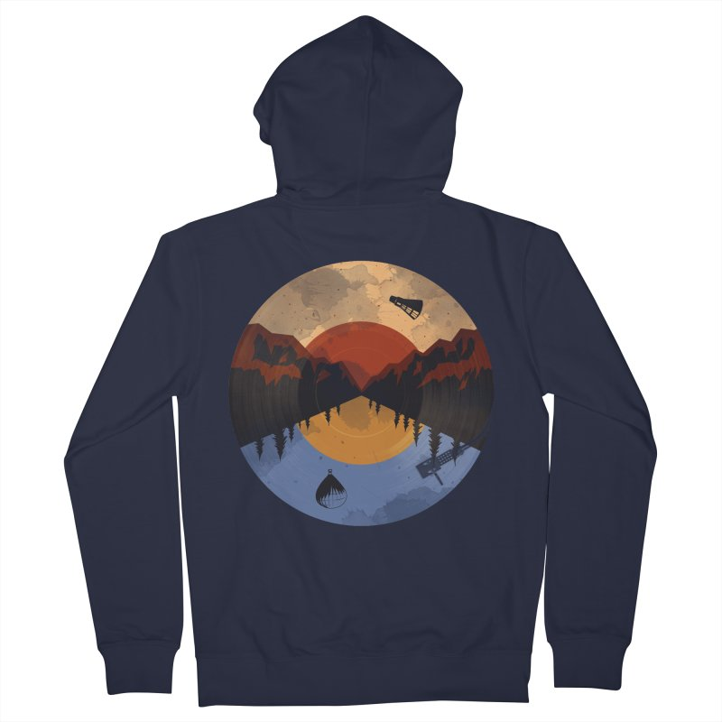 music traveler Women's Zip-Up Hoody by samalope's Artist Shop