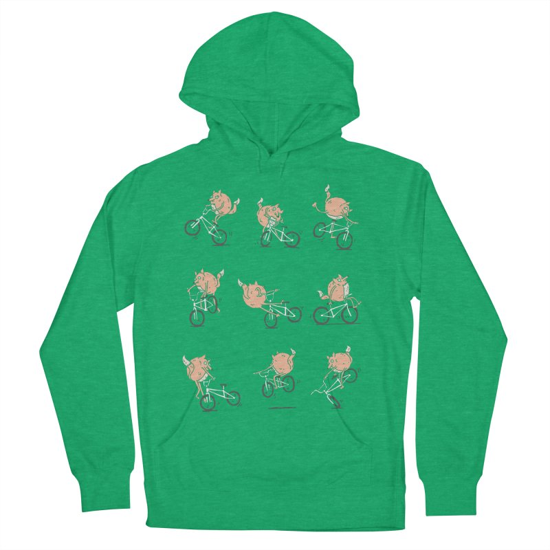 Fox Tricks Women's Pullover Hoody by samalope's Artist Shop