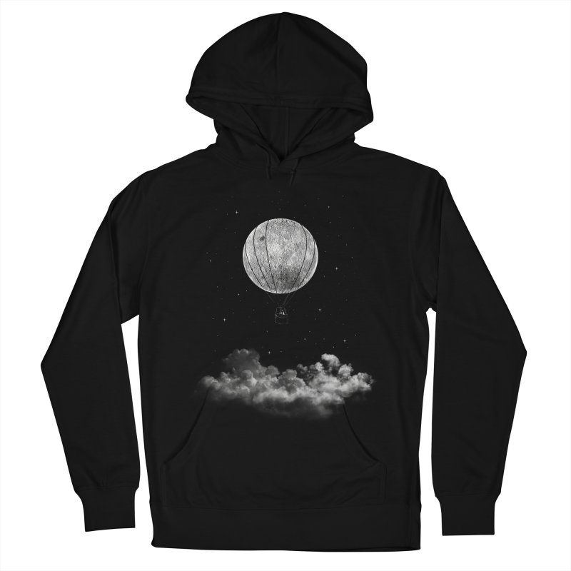 moon Traveler Men's Pullover Hoody by samalope's Artist Shop