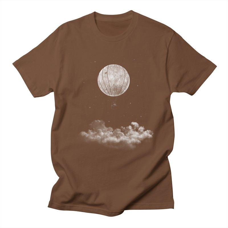 moon Traveler Men's T-shirt by samalope's Artist Shop