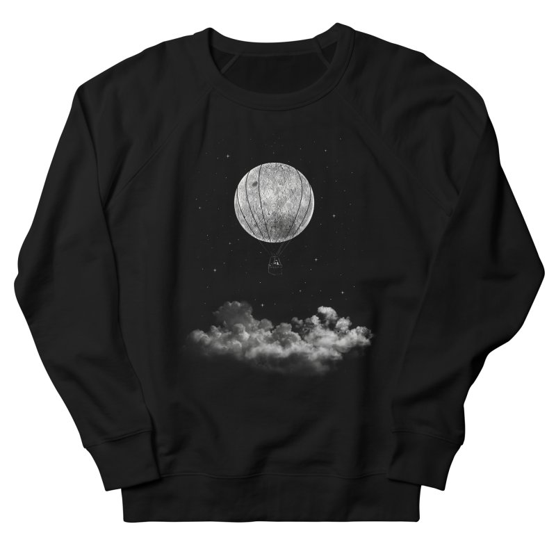 moon Traveler Women's Sweatshirt by samalope's Artist Shop