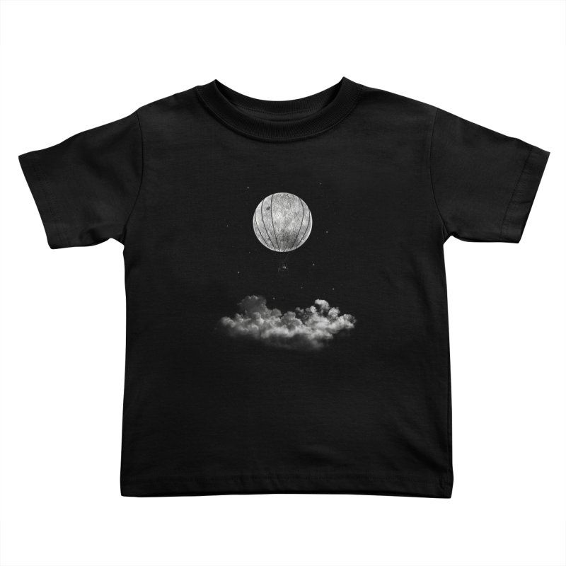 moon Traveler Kids Toddler T-Shirt by samalope's Artist Shop
