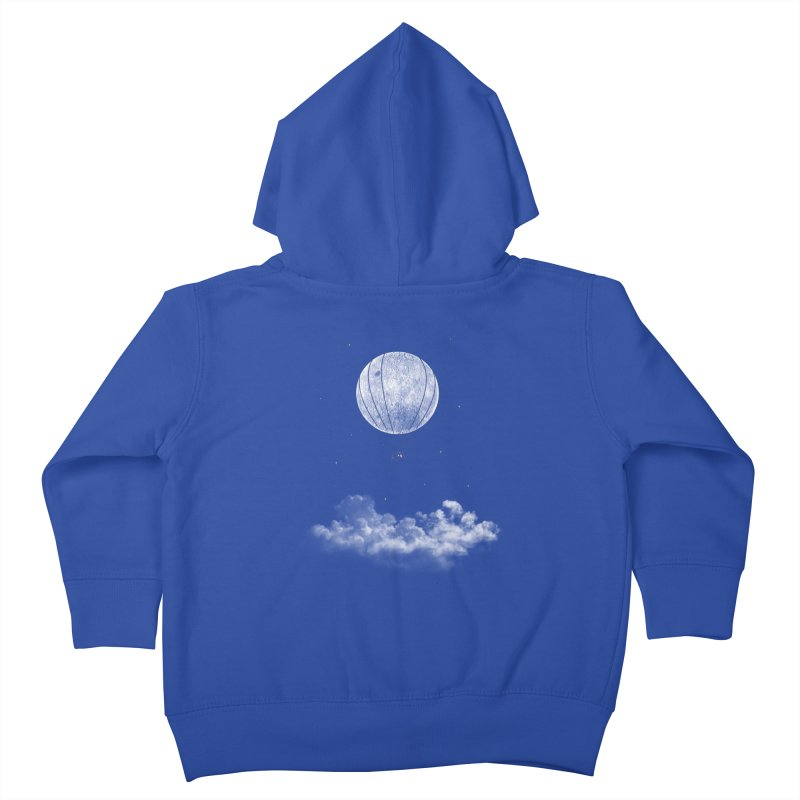 moon Traveler Kids Toddler Zip-Up Hoody by samalope's Artist Shop