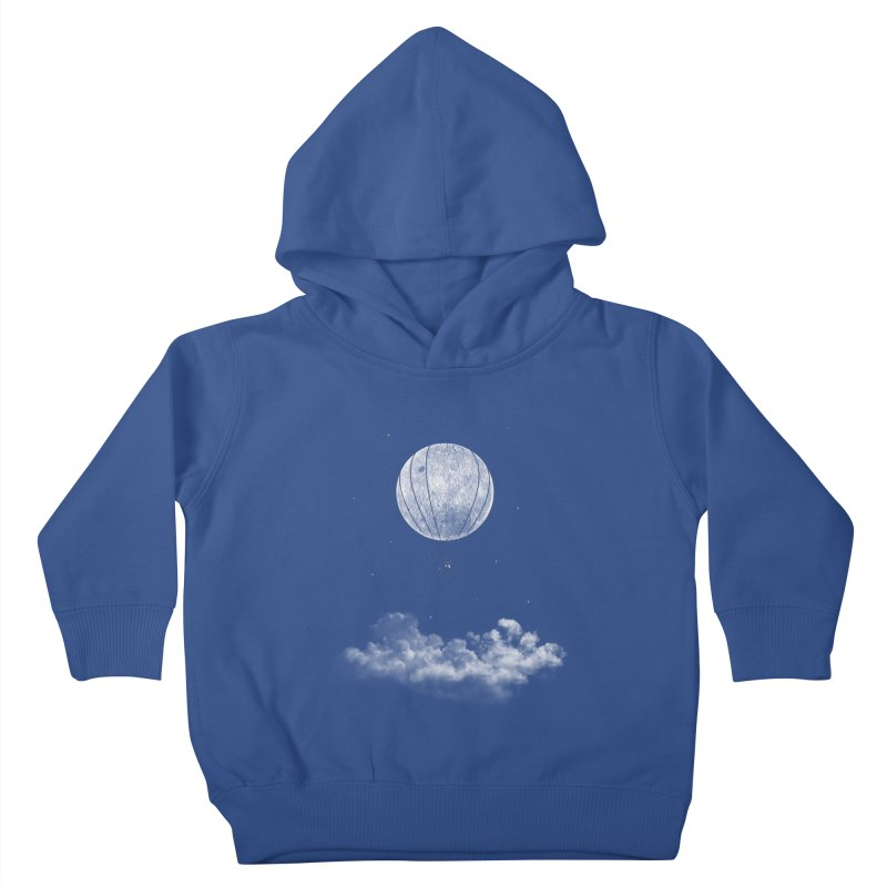 moon Traveler Kids Toddler Pullover Hoody by samalope's Artist Shop