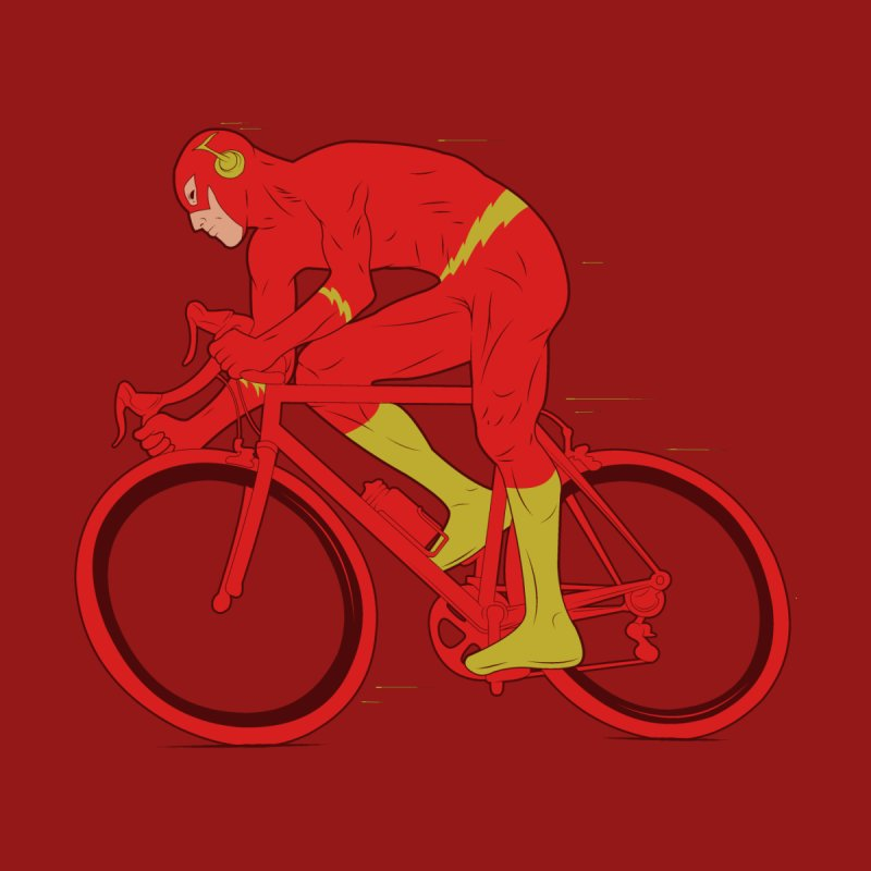 flash bike Men's Triblend Tank by samalope's Artist Shop