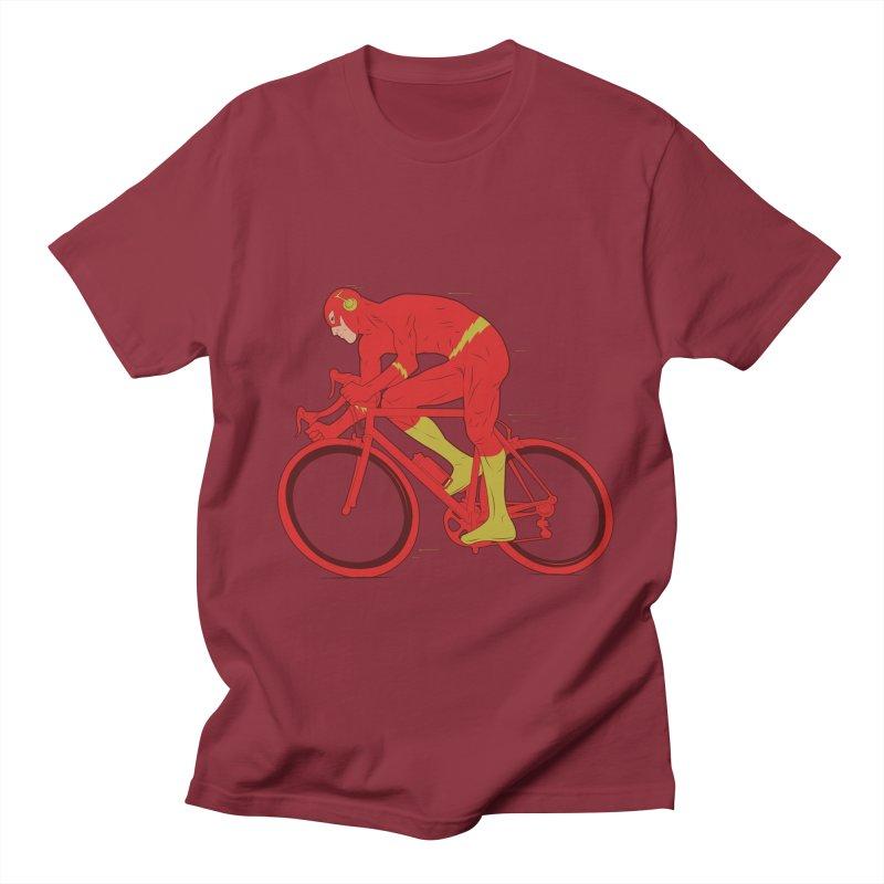 flash bike Men's T-shirt by samalope's Artist Shop