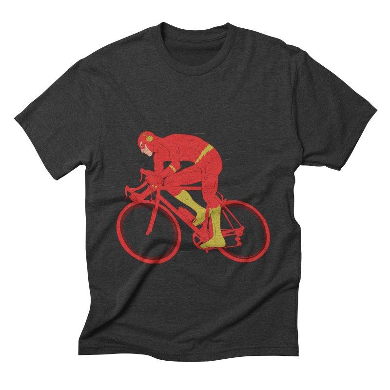 flash bike Men's Triblend T-Shirt by samalope's Artist Shop