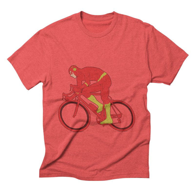 flash bike Men's Triblend T-Shirt by samalope's Artist Shop